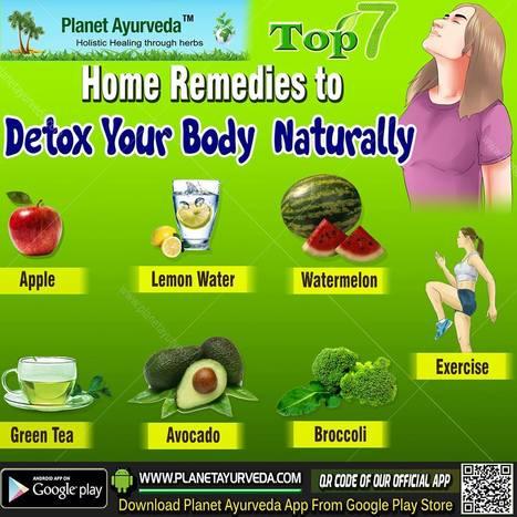 Top 7 DETOX TEA to Detox your Body Naturally   Planet Ayurveda   Scoop.it