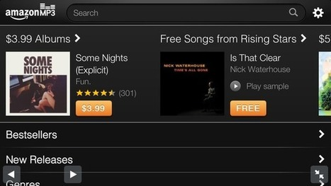Amazon launches MP3 store for iPhone, doesn't owe Apple a cent | Inside Amazon | Scoop.it