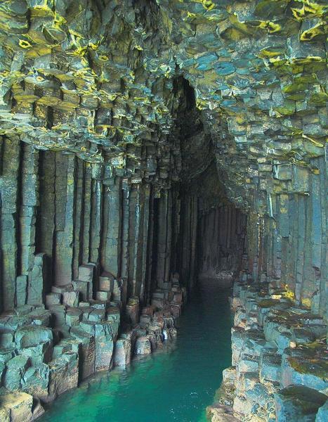 pikstrim — Fingal's Cave on the island of Staffa, Scotland....   Digital Journal   Scoop.it