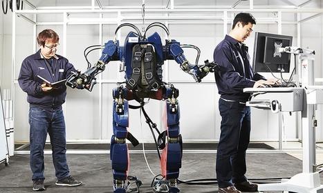 Hyundai dévoile son nouvel exosquelette robotique, style « Iron man » | Vous avez dit Innovation ? | Scoop.it