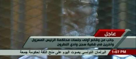 Égypte : le nouveau procès Morsi s'est ouvert | Égypt-actus | Scoop.it