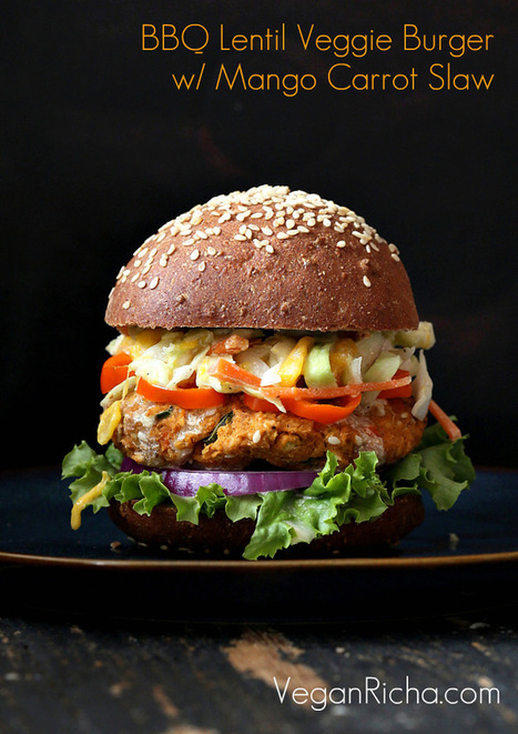 35 Vegan Veggie Burger Recipes - Vegan Richa | My Vegan recipes | Scoop.it
