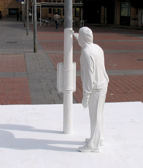 Street Art Installation by mark jenkins | Trendland: Fashion Blog & Trend Magazine | World of Street & Outdoor Arts | Scoop.it