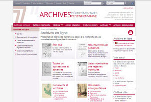 Archives 77, de nouvelles mise en ligne aux Archives de Seine et Marne. | Archive en ligne | Archives de la Rochelle, les recensements de populations 1801 1911 sont en ligne. | Scoop.it