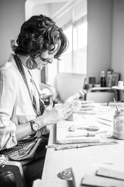 Biz Ladies Profile: Alexia Klompje of Klomp Ceramics | Design*Sponge | Avant-garde Art & Design | Scoop.it