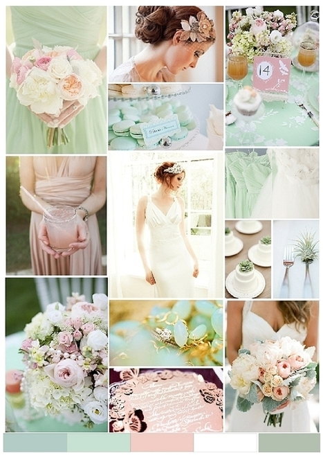 A photoshoot: Blush pink & mint - Always Andri | Hawaii wedding | Scoop.it