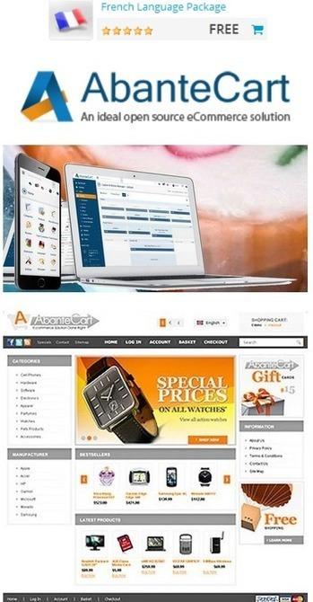 logiciel professionnel gratuit AbanteCart Fr 2015 Plateforme eCommerce complète et gratuite | Logiciel Gratuit Licence Gratuite | Scoop.it