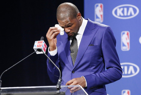 Watch Kevin Durant's powerful, emotional MVP acceptance speech | Troy West's Show Prep | Scoop.it