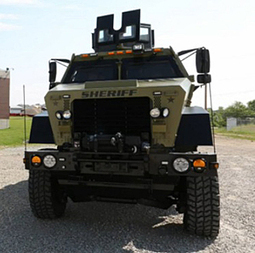 """Indiana Sheriff Says US A """"War Zone"""" To Justify New MRAP Military Vehicle - informationliberation 