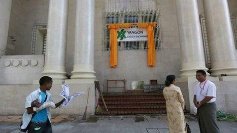 Inside Myanmar's first stock exchange - BBC News   jacobbrandon01   Scoop.it