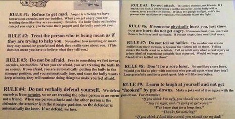 Nebraska School's 'Ludicrous' Advice for Bullying Victims Sparks Parent Outrage — Read the 9 Rules Here | bullying | Scoop.it