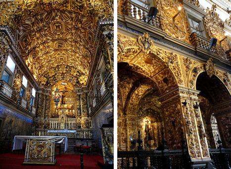 Igreja e Convento de São Francisco, em Salvador: a obra máxima do barroco na Bahia | MATRAQUEANDO | Dicas de Viagem, América e Ásia | Scoop.it