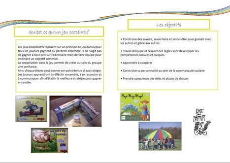Jeux'lis 2013-2014 - Site de l'Association départementale de l'Orne - AD61   Jeux coopératifs   Scoop.it