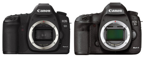 Canon EOS 5D Mk II Vs Mk III | alles für den foto | Scoop.it