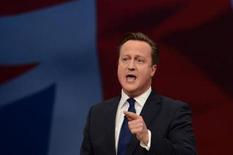 """Low oil price causes """"collapse"""" of SNP policy, says David Cameron 