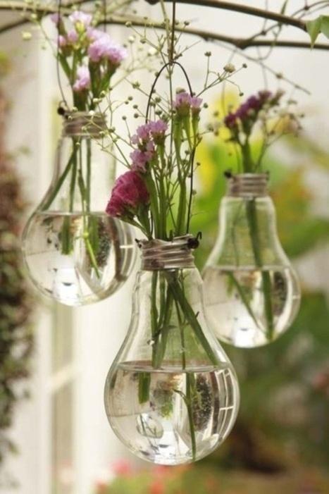 DIY Les ampoules trouvent une nouvelle jeunesse | La minute déco | la minute deco | Scoop.it