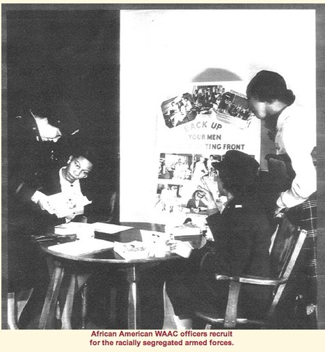 Primary source 1: African American WAAC Officers | Women in the Military in WW2 | Scoop.it