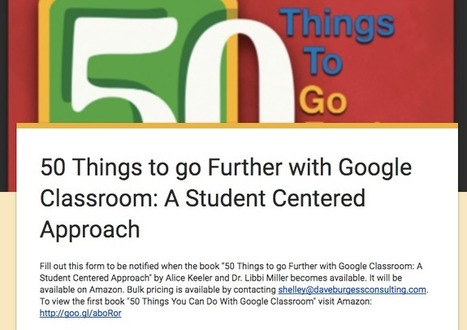 Be Notified: New Google Classroom Book - Teacher Tech | Keeping up with Ed Tech | Scoop.it