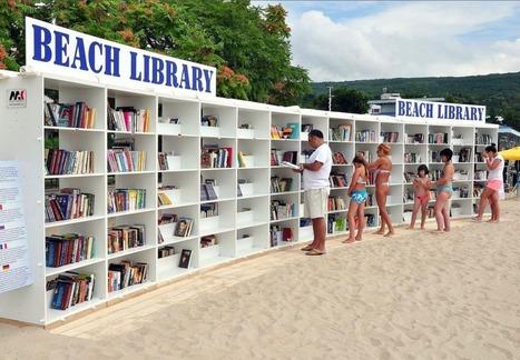 C'est la plus grande bibliothèque de plage au monde! | Bibliothèques et Cie | Scoop.it