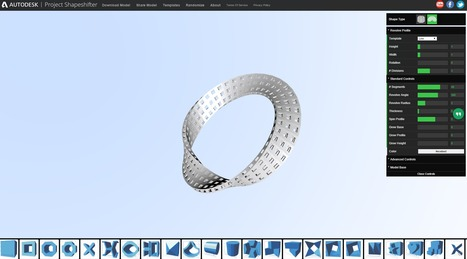 Project Shapeshifter : Design with 3D patterns | Time to Learn | Scoop.it