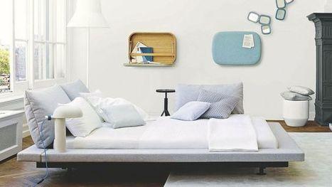 10 lits design pour une chambre déco | Immobilier | Scoop.it