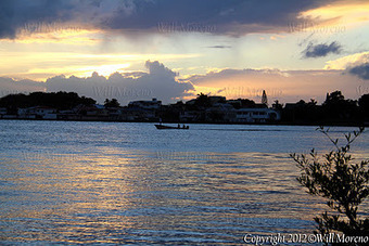Sunsets over the Beautiful Caribbean Sea in Belize are Amazing | Belize in Photos and Videos | Scoop.it