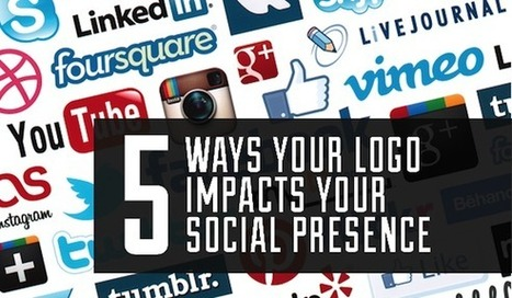 5 Ways Your Logo Impacts Your Social Presence | BusinessBlogs Hub | Logo Impact and Brand Awareness | Scoop.it