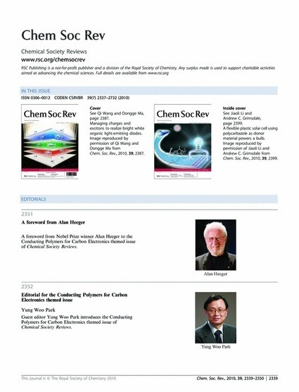 Contents - Chemical Society Reviews (RSC Publishing) | My Research Interests | Scoop.it