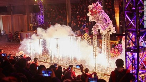 Chinese Lion Dancing Meets Cirque du Soleil | wesrch | Scoop.it