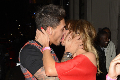 Chloe Sims and Mario Falcone snog each other at Funky Buddha | entertainmentpixel.com | Scoop.it