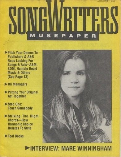 Songwriters Museupaper - Volume 7 Issue 8 - August 1992 - Interview: Mare Winningham | Douglasewelch | Scoop.it