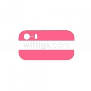 Custom Top and Bottom Back Glass Replacement Parts for Apple iPhone 5S Pink   OEM iPad Air Repair Parts   Scoop.it