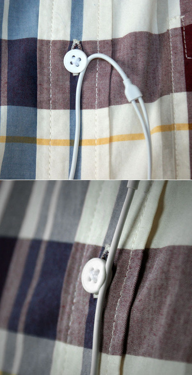 Clever Cable Management Via 3D-Printed Shirt Button | 3D Printing and Fabbing | Scoop.it