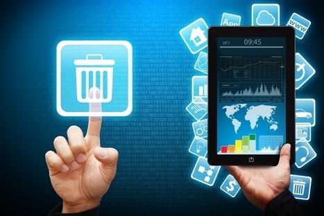 Peur sur les Apps : 47% des Apps de marques effacées après la première utilisation ? | Parlons mobile | Scoop.it