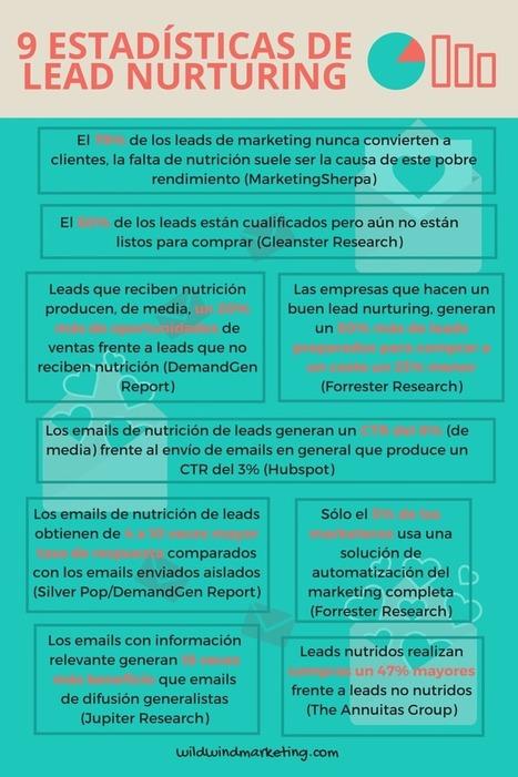 Lead Nurturing: 9 estadísticas que te harán replantear tu marketing - Wild Wind Marketing   Digital Marketing & Social Media (spanish)   Scoop.it