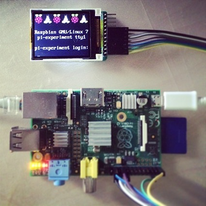 "Connecting 1.8"" TFT LCD to Raspberry Pi 