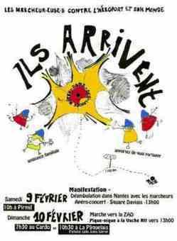 [Solidarité avec la ZAD!] A Nantes, Manif avec les marcheurEuses contre l'aéroport et son monde le 9 février à 10h à Pirmil | Occupy Belgium | Scoop.it