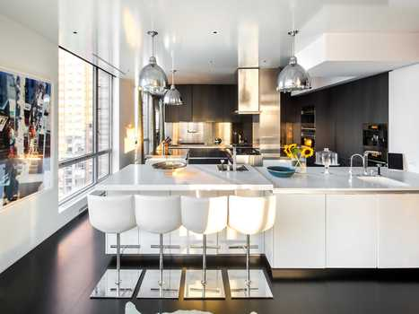 HOUSE OF THE DAY: Incredible Three-Story Penthouse In New York City's ... - Business Insider Australia | Kenyon Clarke 's Luxury Likes | Scoop.it