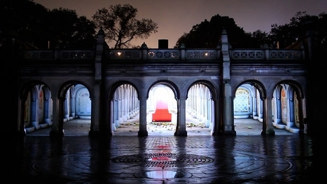 The Spot: Mcgarrybowen's 3-D Projection on Bethesda Terrace for the Central Park Conservancy | Advancements in Light, AR Tech (Advertising, Media) | Scoop.it