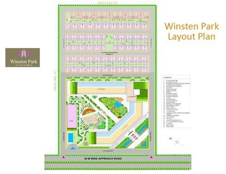 Winsten Park Noida Site Plan | Buy Property in India | Scoop.it