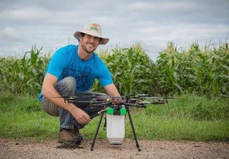 Drones que lanzan bichos contra las plagas | Hacked Freedom | Scoop.it
