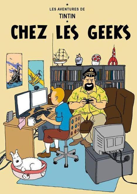 Tintin chez les Geeks | Fréquence Geek | And Geek for All | Scoop.it