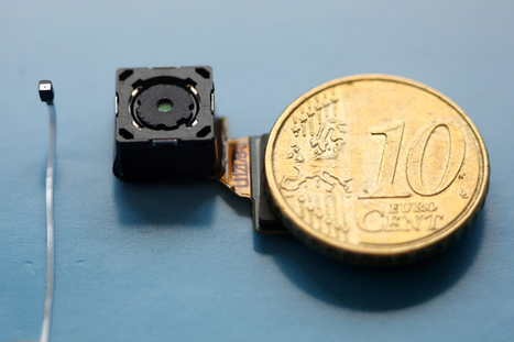 Rambus lens-free camera is smaller than a pencil point, could give sight to all gadgets soon | Skylarkers | Scoop.it