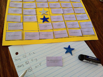 cheesemonkey wonders: WEEK 1: 'Words into Math' Block Game | #made4math | Common Core Implementation | Scoop.it
