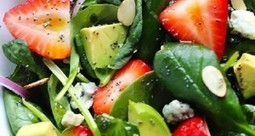 15 Green and Healthy Avocado Salads | Yummy Recipes | Scoop.it