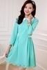 3/4 Sleeve Cutout Dress - OASAP.com | Oasap street fashion | Scoop.it