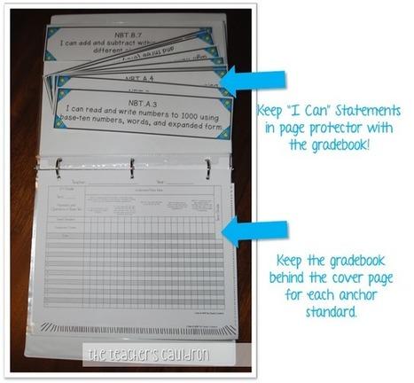 The Teachers' Cauldron: Organize your Common Core Standards! | Common Core | Scoop.it