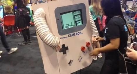 Un cosplay de GameBoy jouable - Le Journal du Geek | Cosplay | Scoop.it
