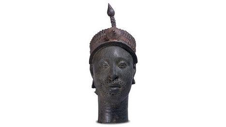British Museum - Brass head with a crown | Más allá que un gran continente, un movimiento cultural... | Scoop.it