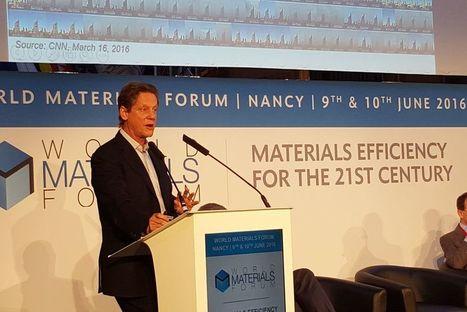 Que viennent chercher les CEO du monde entier au World Materials Forum à Nancy ?   Forge - Fonderie   Scoop.it